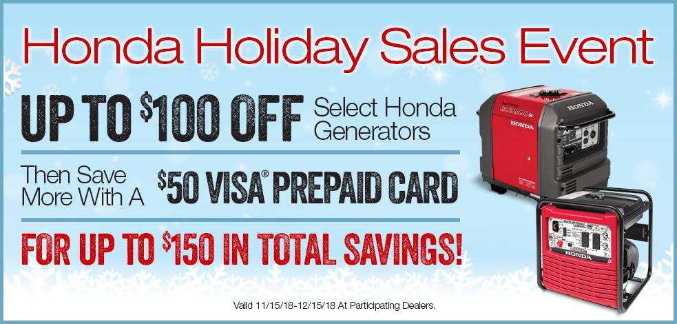 Honda Holiday Sales Event!